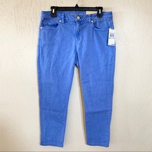 Michael Kors Izzy Cropped Skinny Mid Rise Size 8